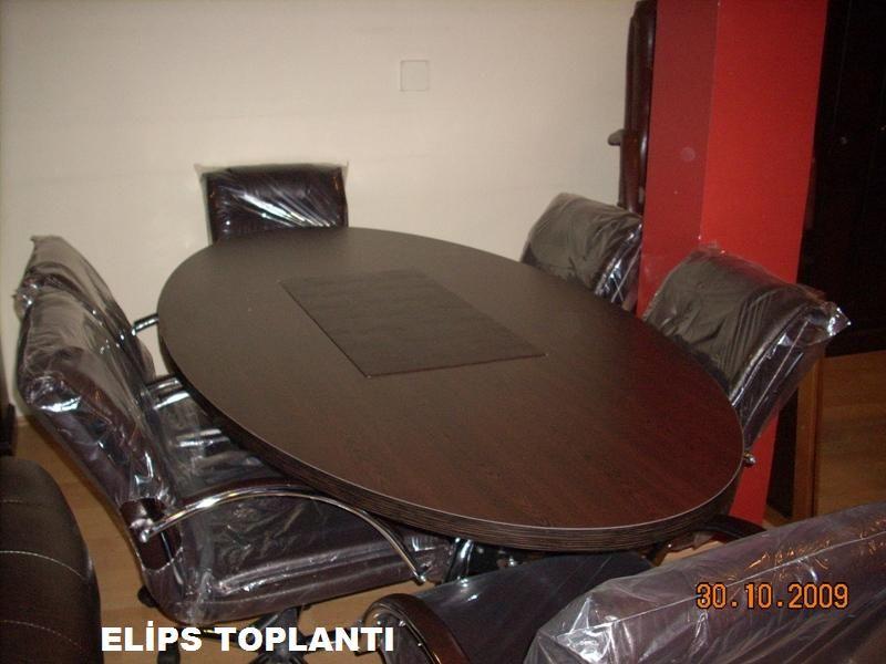 Elips Toplantı Masası